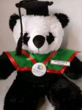 Boneka Wisuda Panda | Kado Wisuda Boneka Panda