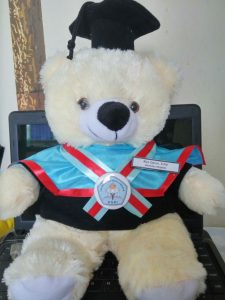 boneka wisuda jakarta, hadiah wisuda untuk laki-laki, kado buat wisuda, souvenir wisuda unik, boneka doraemon wisuda, boneka wisuda teddy bear,