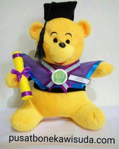 Boneka Wisuda Winnie The Pooh, Boneka Wisuda Murah di Jakarta, Jual Souvenir Wisuda berupa Boneka Pooh di Bandung, Kado Untuk Sahabat Wisuda Pooh Murah,